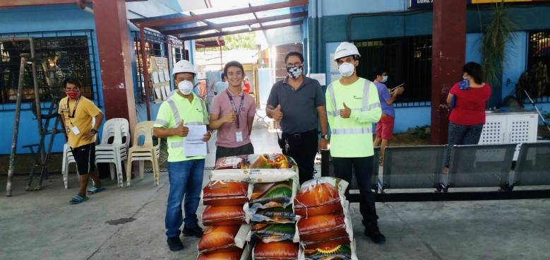 april 14 iloilo turnover of grocery items