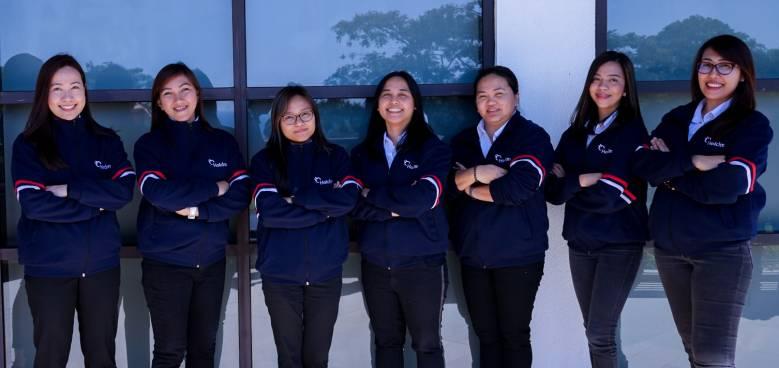 female employees of holcim philippines