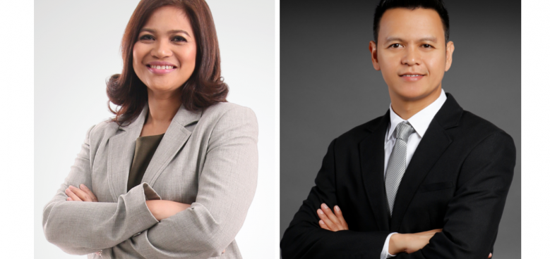 holcim senior vice president for sustainability zoe sibala and vice president for health safety environment and security richard cruz