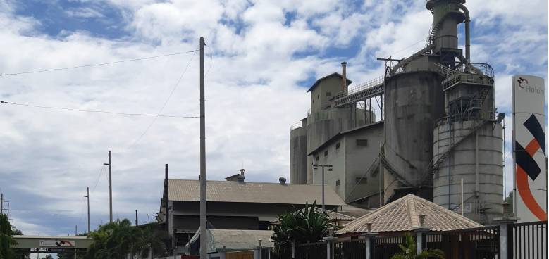 holcims early completion of its la union plant upgrade improve its ability to support the development of north luzon