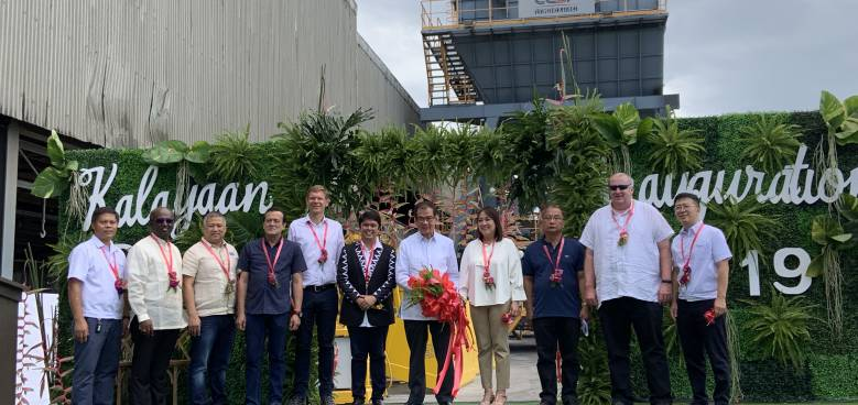 inauguration ceremony of new facilities of holcim davao