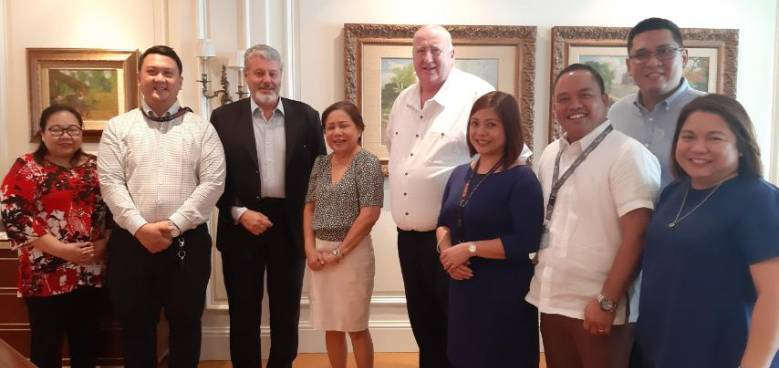 senator villar and holcim officials